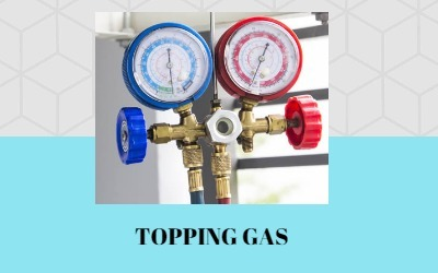 Topping Up Gas Refrigerant