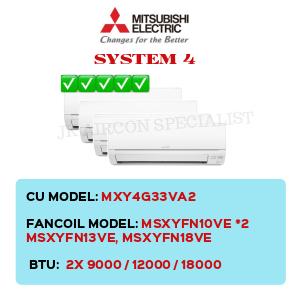 MXY4G33VA2 / MSXYFN10VE X2/ MSXYFN13VE / MSXYFN18VE