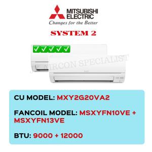 MXY2G20VA2 / MSXYFN10VE / MSXYFN13VE