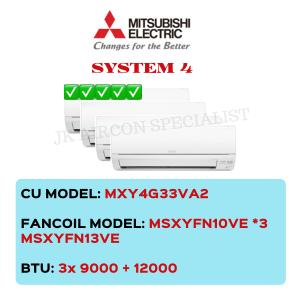 MXY4G33VA2 / MSXYFN10VE X3 / MSXYFN13VE