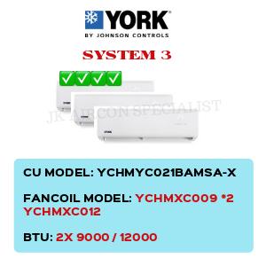 YCHMYC021BAMSA-X / YCHMXC009 X2 / YCHMXC012