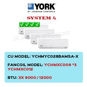 YCHMYC028BAMSA-X / YCHMXC009 X3 / YCHMXC012