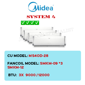 MS4OD-28 / SMKM-09 X3 / SMKM-12
