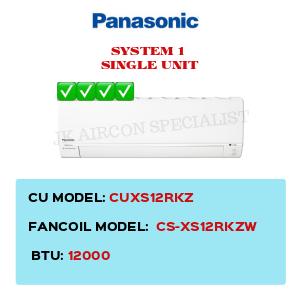 CUXS12RKZ / CS-XS12RKZW