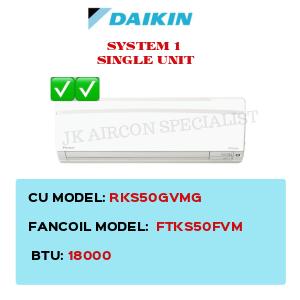 RKS50GVMG / FTKS50FVM