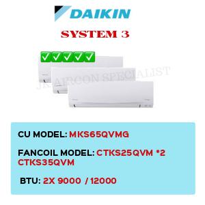 MKS65QVMG / CTKS25QVM X2 / CTKS35QVM