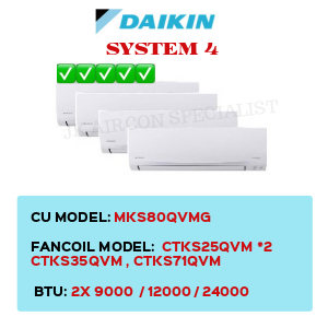 MKS80QVMG / CTKS25QVM X2 / CTKS35QVM / CTKS71QVM