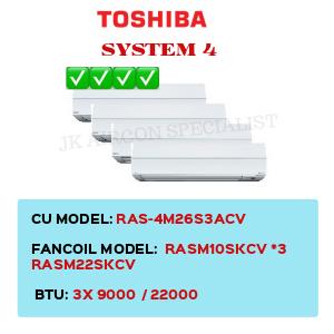 RAS-4M26S3ACV / RASM10SKCV X3 / RASM22SKCV
