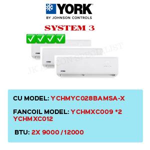YCHMYC028BAMSA-X / YCHMXC009 X2 / YCHMXC012