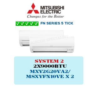 MXY2G20VA2 / MSXYFN10VE X2