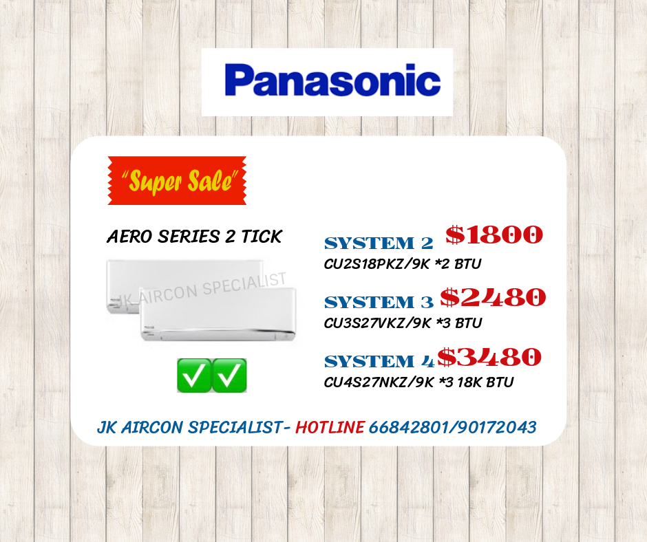 PANASONIC AERO SERIES 2 TICK