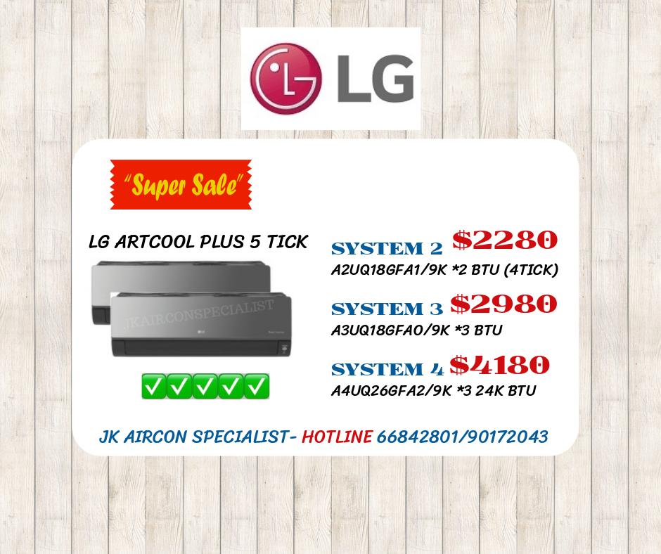 LG ARTCOOL PLUS 5 TICK