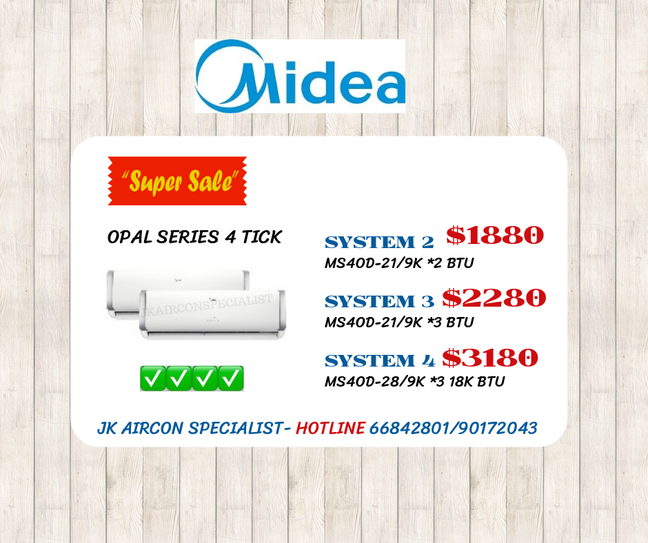 MIDEA OPAL 4 TICK