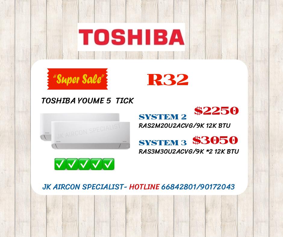 TOSHIBA YOUME 5 TICK